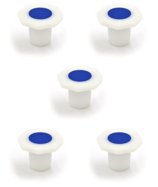 Stopper-Polypropylene 29/32, pk of 5