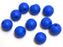 Eisco Labs Molecular Model Part; Blue Ball; 2.2cm; 2 Holes; Pk of 10
