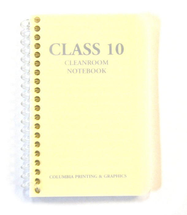 Class 10 Cleanroom Notebook, 5 Inch - 100 Pages - Spiral Bound - College Ruled