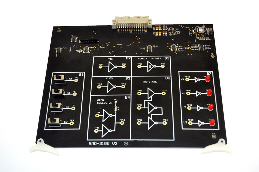Logic Families Circuit Board to be used with EB-3000