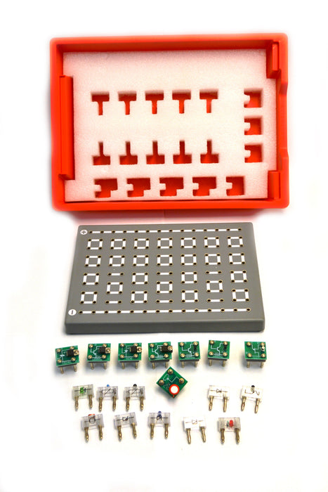 Eisco Labs Physics Electronics System Set, 18 Pieces