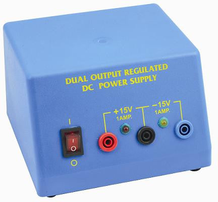 Regulated Low Voltage DC Power Pack, + 15V - 1 A