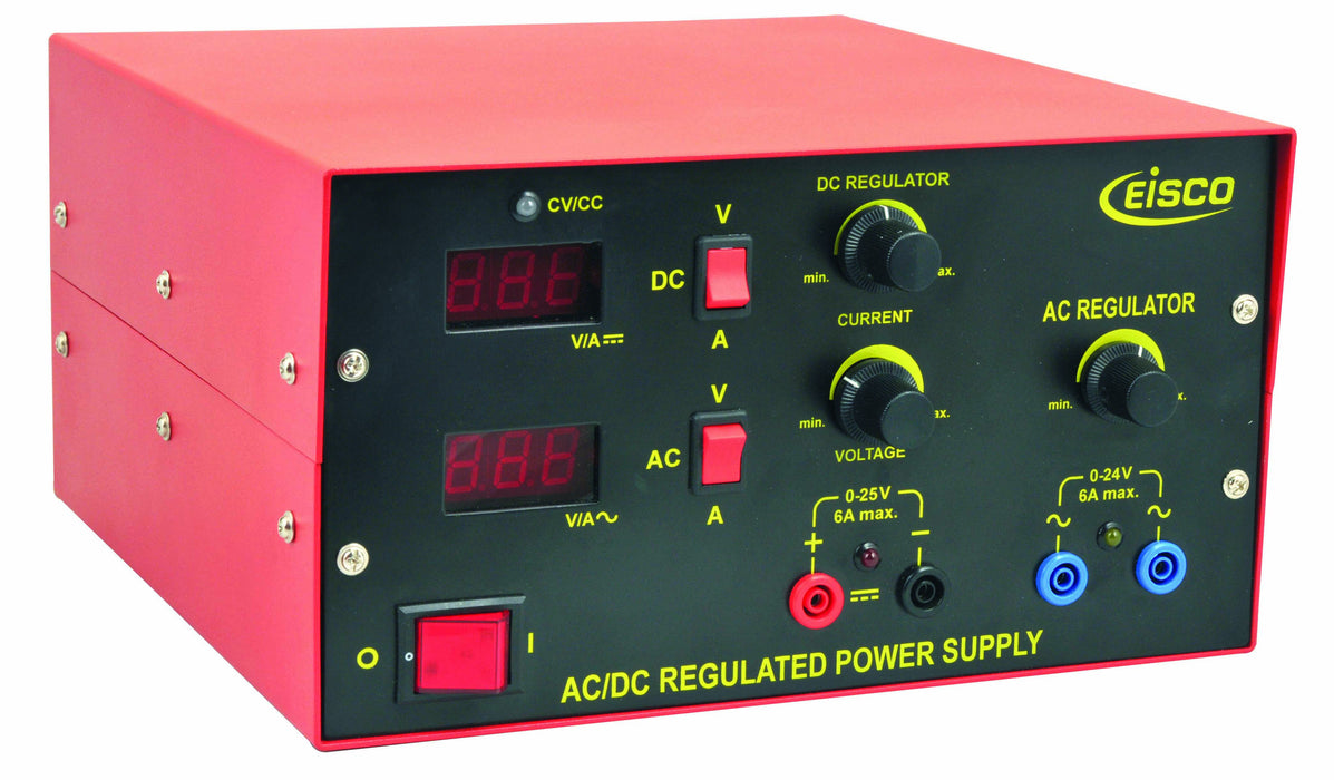 Power Supplies Low Voltage AC/DC Regulated with Digital Display