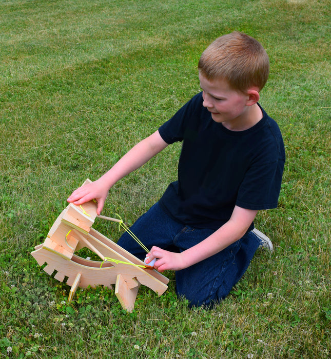 Ballista Catapult - DIY Kit - No Tools Required - Eisco Garage Physics
