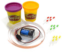 Modeling Dough Circuit Kit - Includes Modeling Dough, Battery, LED Lights, 12