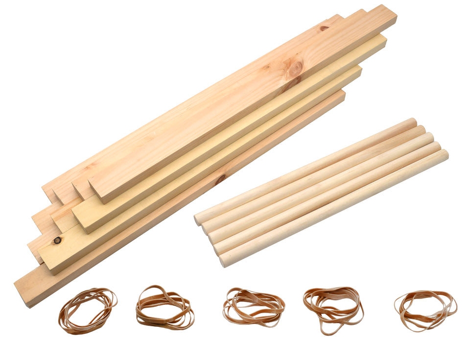 Leonardo Da Vinci Bridge Kit - Explore Engineering Principles - No Tools Required - Complete Kit - Eisco Labs