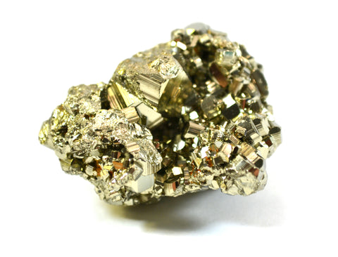 "Crystalline Pyrite, Approximately 1.5-2"" Length, 2-10mm Crystals, Single Piece"