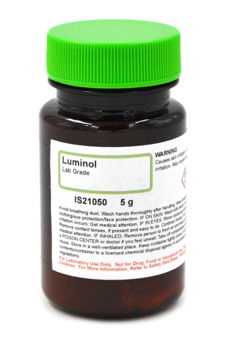 Lab-Grade Luminol, 5g - The Curated Chemical Collection