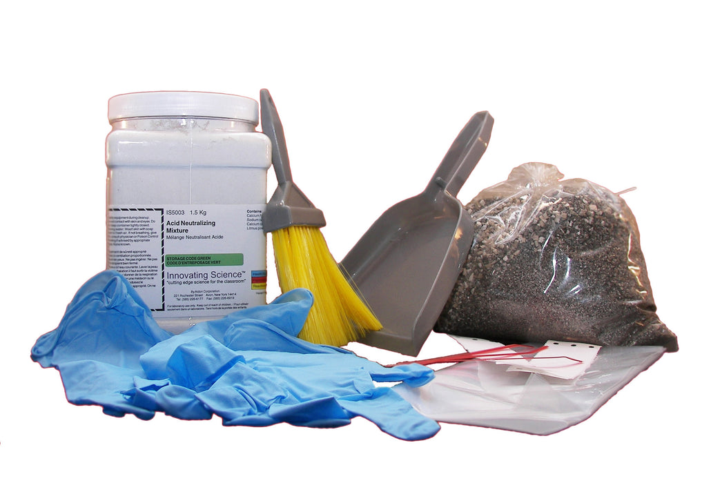 Acid Spill Neutralization and Clean Up and Disposal Kit