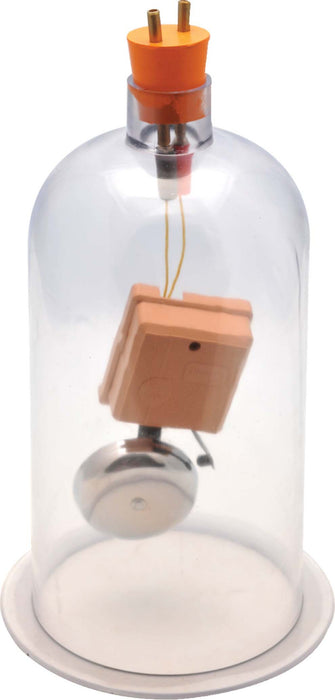 Eisco Labs Bell in Vacuum Jar - Acrylic, 4-6V DC