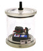 Bell Jar with battery operated buzzer