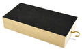 "Wooden Friction Block, Pine Wood and Felt - Measures 6 x 3 x 1.25"" (Made in the USA)"