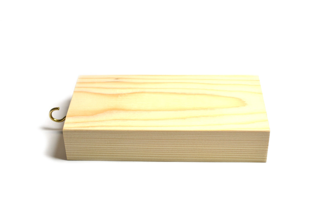 "Wooden Friction Block - Measures 6 x 3 x 1.25"" (Made in the US)"
