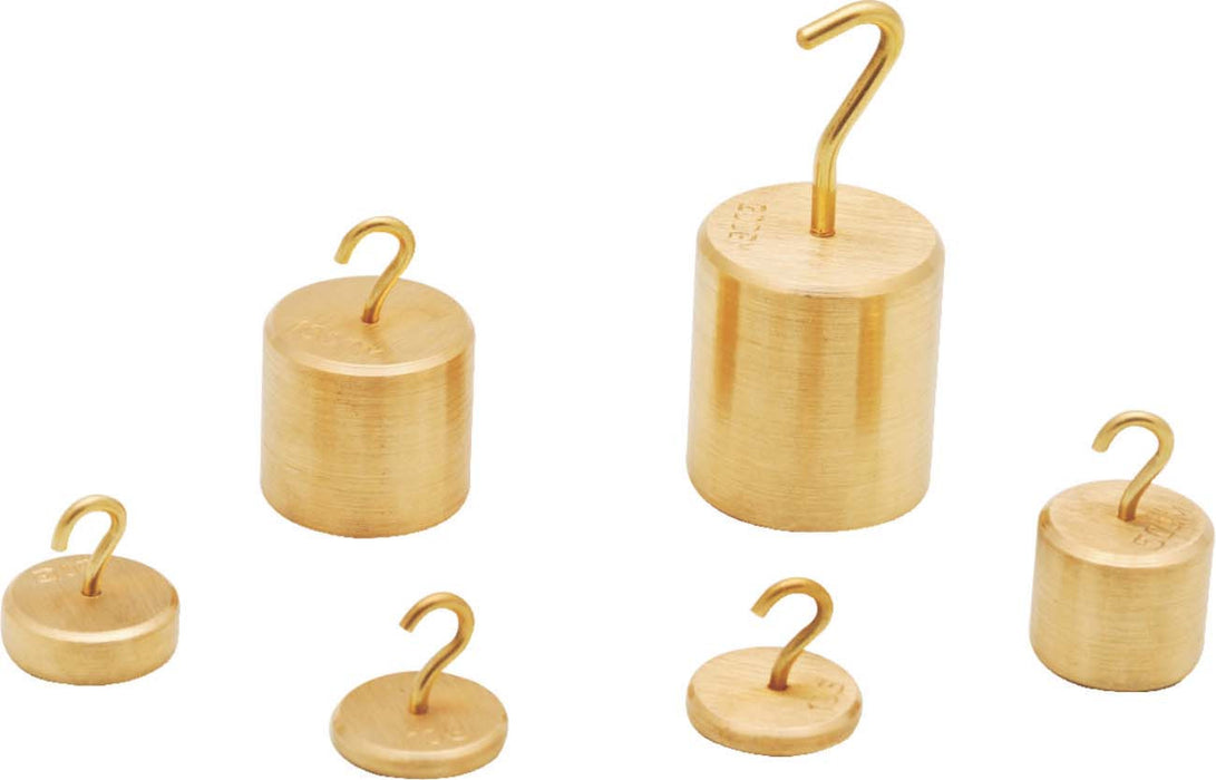 Individual Hooked Weights - Brass, 50gm.