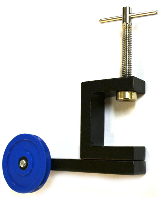 Eisco Labs Pulley Bench Clamp Fitting, Nylon Ball Bearing