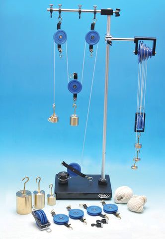 Eisco Labs Student Pulley Demonstration Set