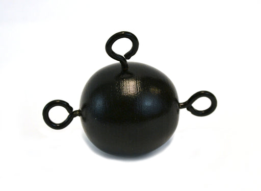 Inertia Ball, fitted with 3 eye bolts