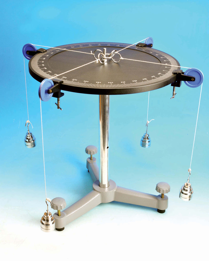 Eisco Labs Precision Aluminum Force Table - 40cm diameter