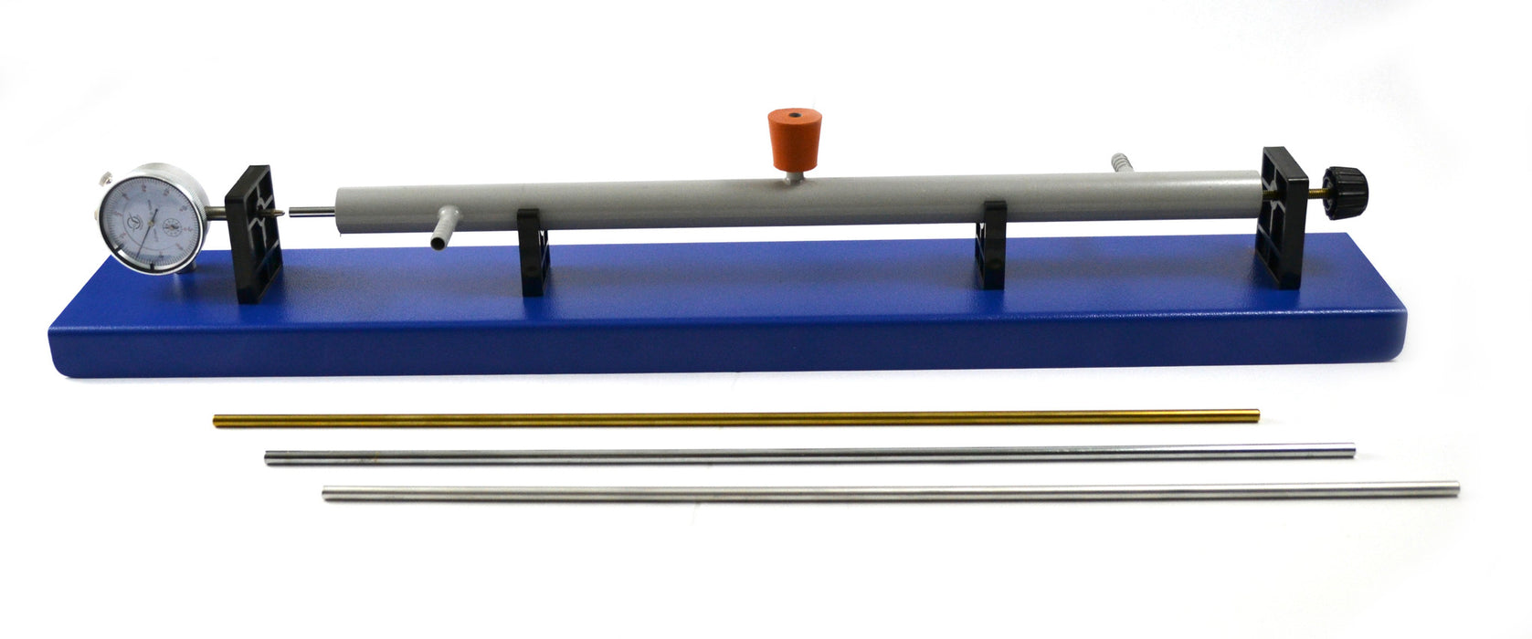 Linear Expansion Apparatus with Gauge; 3 Rods Included