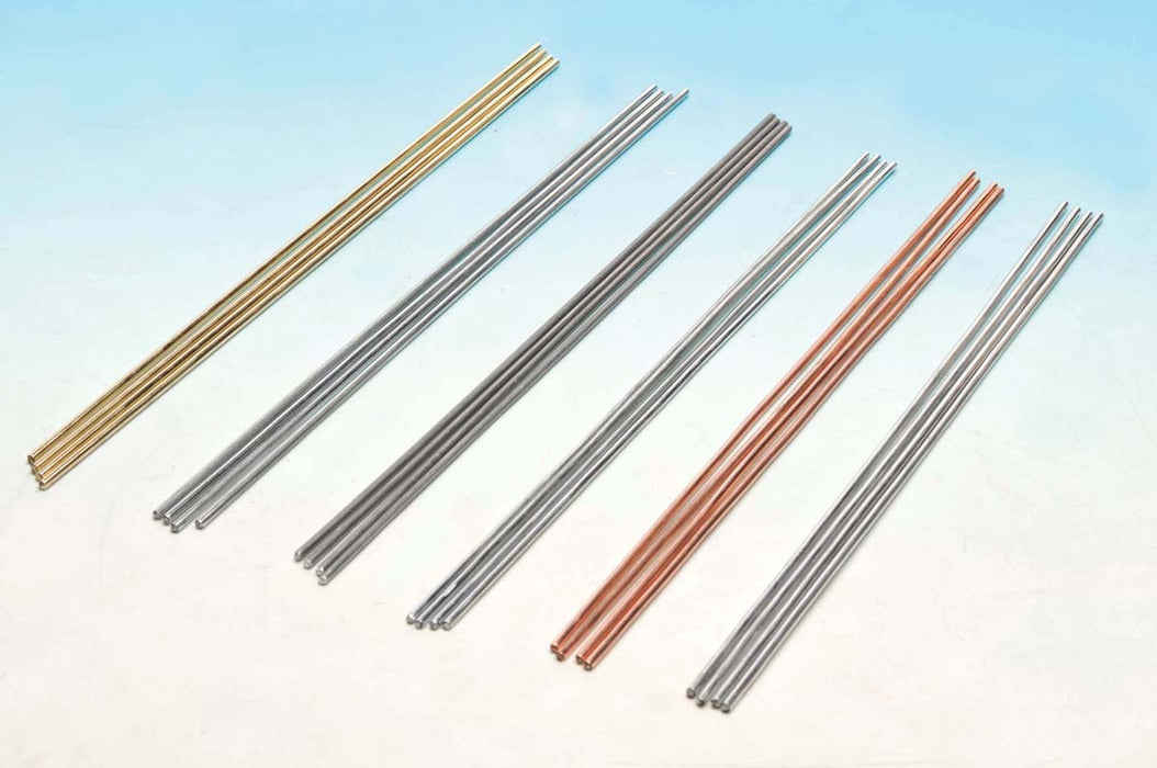 Rods for Thermal Conductivity Experiments, Brass, pk of 10 rods
