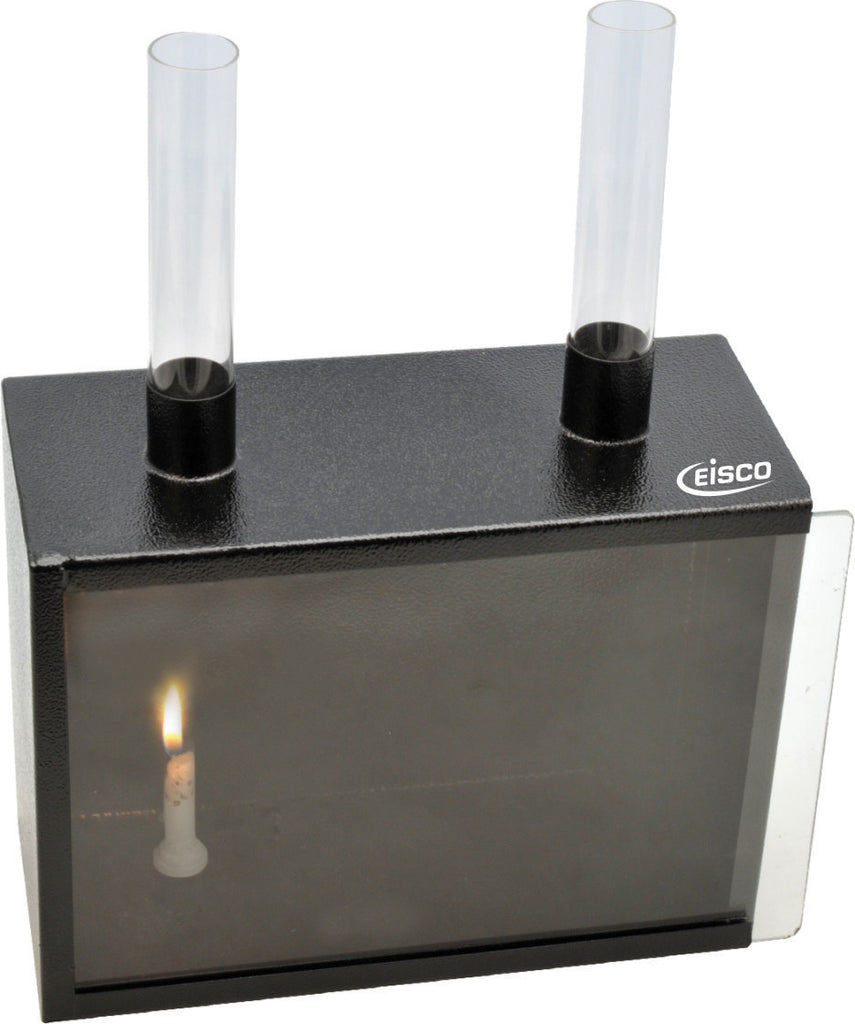 "Eisco Labs Convection of Gas Apparatus, Large Size, 8.7""x6.5""x4"""