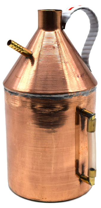 "Steam Generator, 1.5L Capacity, 9.5"" Height, Copper - Eisco Labs"
