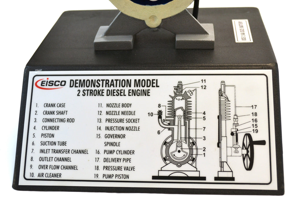 Eisco Labs Two-stroke Diesel Engine Model