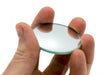 "Round Convex Glass Mirror  - 2"" (50mm) Diameter -  50mm Focal Length - 2.8mm Thick Approx. - Eisco Labs"