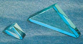 Right Angle Refraction Prisms, 80 x 115 mm Acrylic
