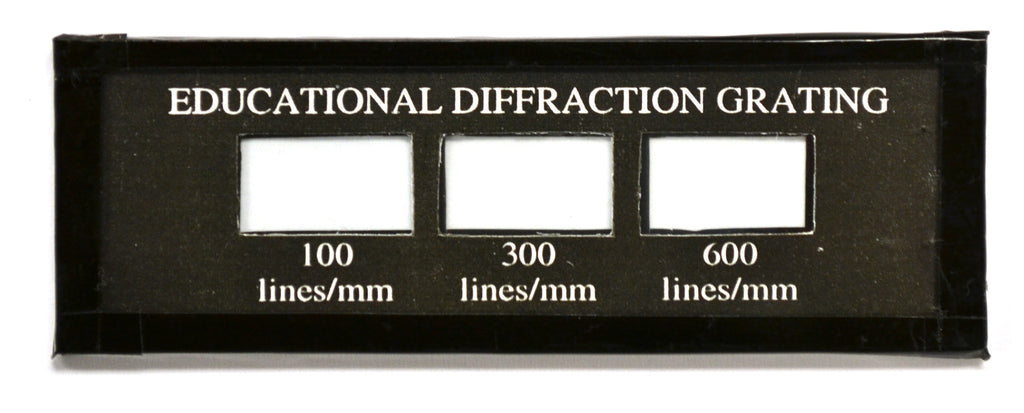Eisco Labs Educational Diffraction Slide