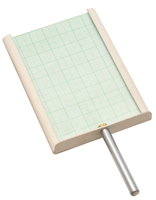 Receiving Screen for Optical Bench - 100x75mm w/ Graph Paper Screen - Eisco Labs