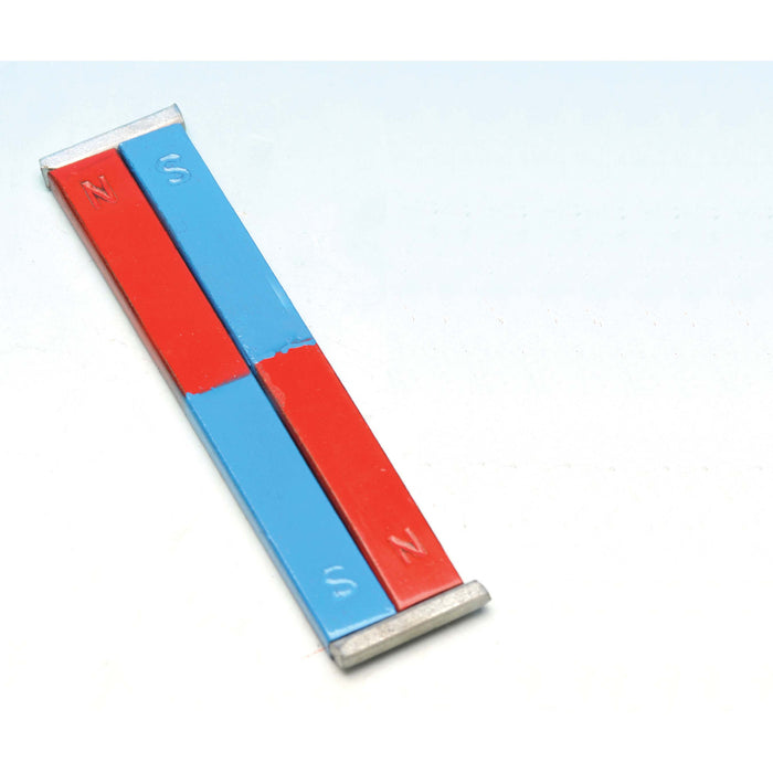 Painted Blue/Red Bar Magnets