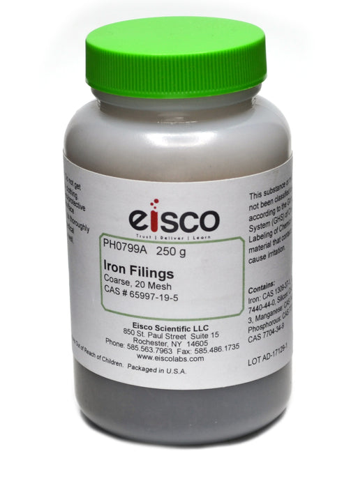 Eisco Labs Coarse Iron Fillings, 250g