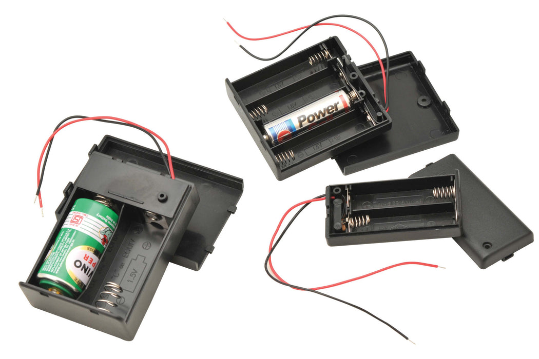 Battery Box for 4 'AA' size batteries