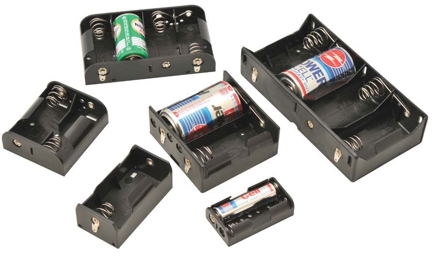 Cell Holder for 4 'D' size batteries