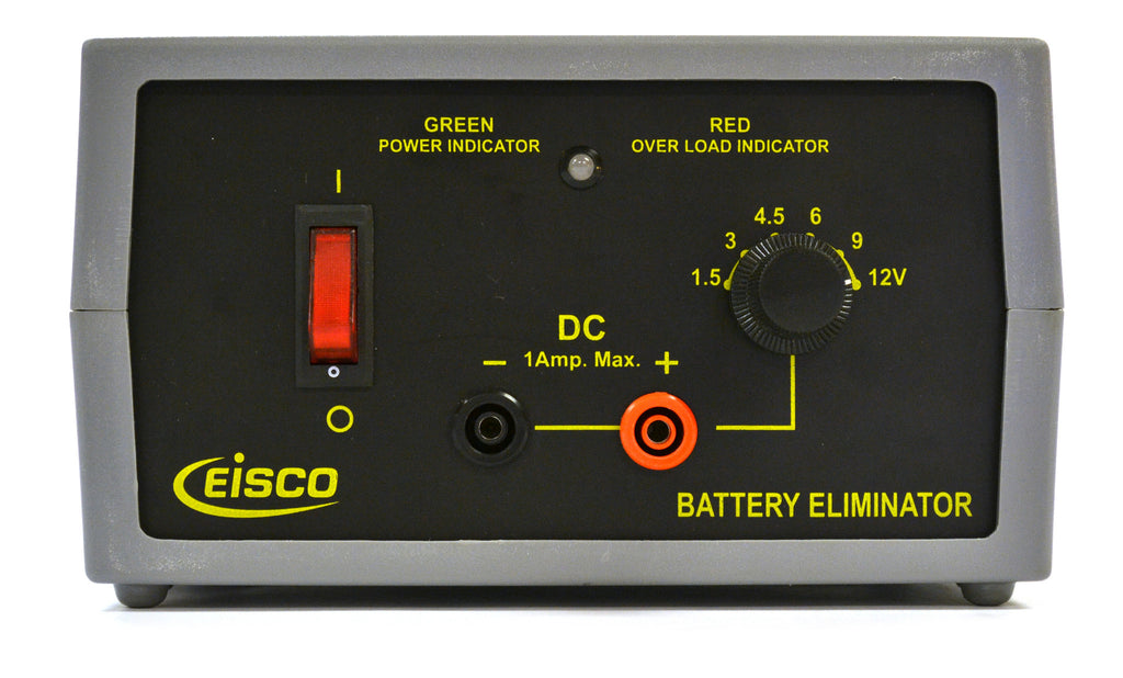 Eisco Labs Battery Eliminator, 1A Max - 1.5, 3, 4.5, 6, 9, or 12V