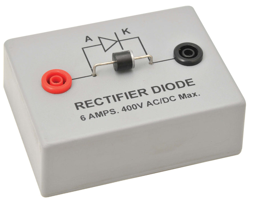 Rectifier Diode Demonstration on Base with 4mm terminals - Eisco Labs