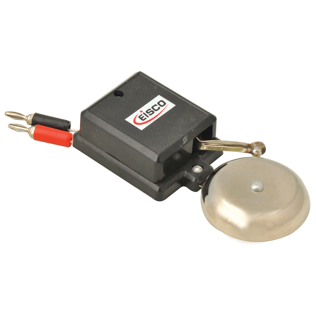 Electric Bell with Banana Plug Terminals, 3 to 4.5V