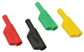 Safety Plugs 4mm with rigid sleeve