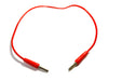 Connecting Leads 4mm, length 500 mm, Red