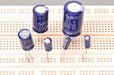Capacitors, Max. Volts 25, Capacitance 22µF, pk of 10