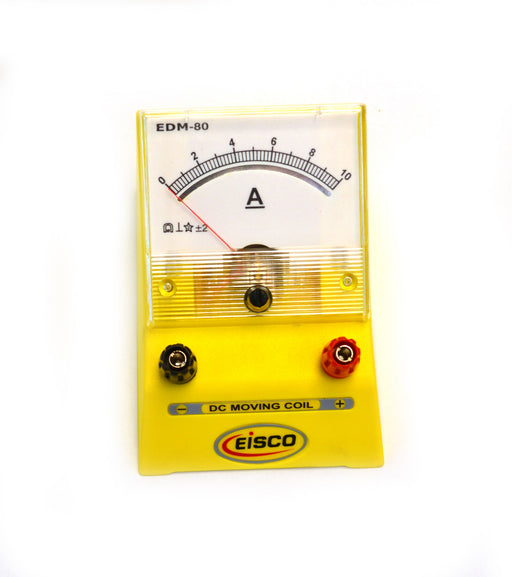 Analog Ammeter Gauge, 0 to 10A Range, .2A Resolution - hBARSCI
