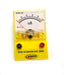 Analog Ammeter Gauge, 0 to 100mA Range, 2mA Resolution - hBARSCI