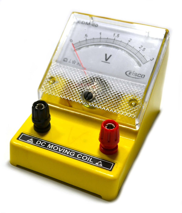 Moving Coil Meters DC, Voltmeter 0 - 3 V