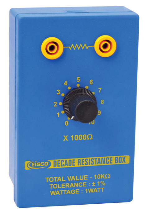 Resistance Box - Single Dial, 1 K? - 10 K? in steps of 1 K?