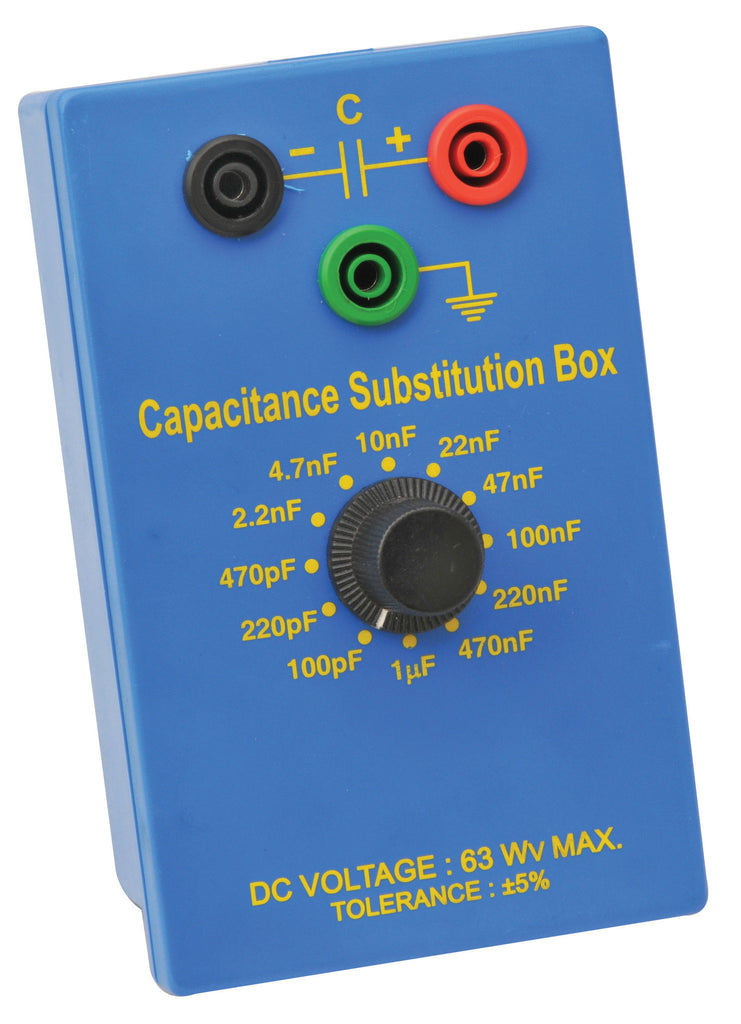 Eisco Labs Capacitance Substitution Box
