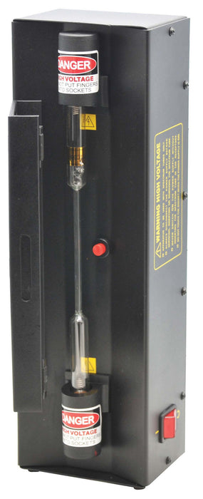 Spectrum Tube Power Supply with safety door, Operates on 110 volts AC.