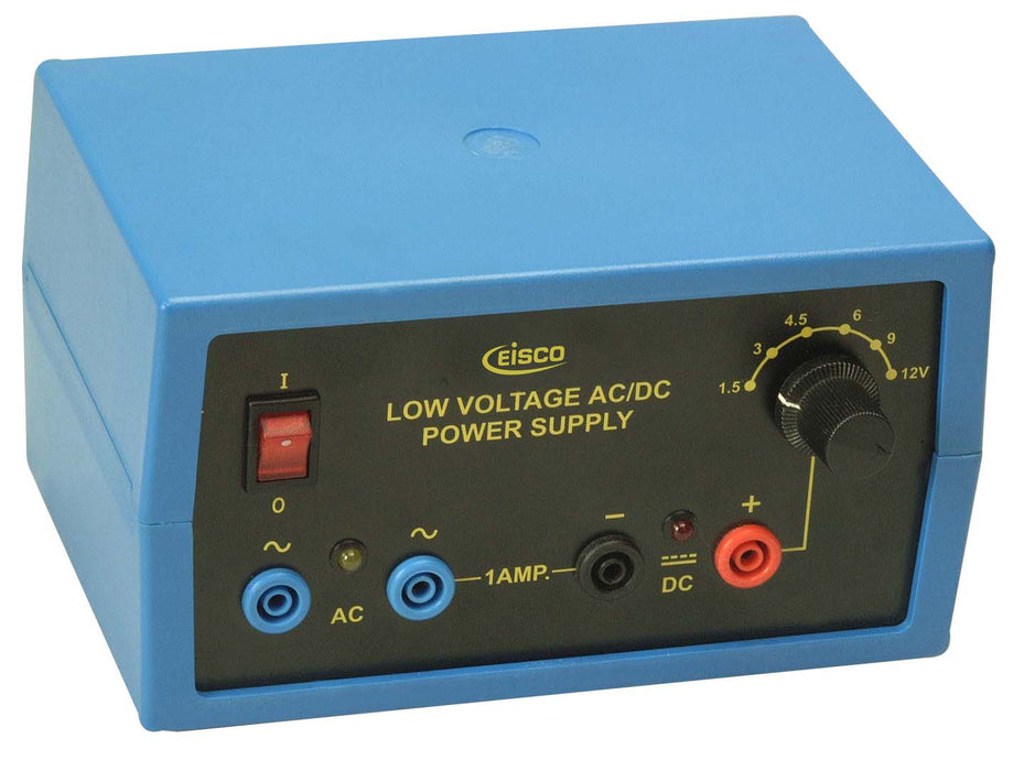 Eisco Labs Power Supply - Regulated AC/DC 12V - 1A