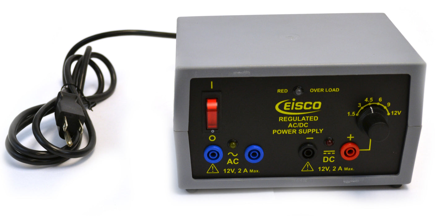 Eisco Labs Power Supply - Regulated AC/DC 12V - 2A