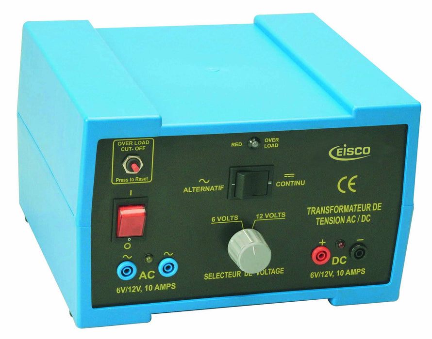 Power Supplies Regulated AC/DC 6V/12V 10A
